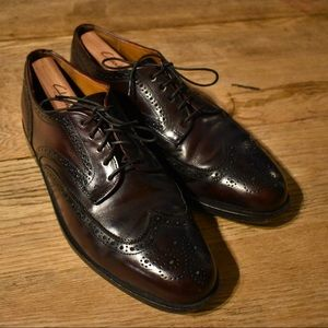 Vintage Cole Haan Wingtips Made in USA 11.5M